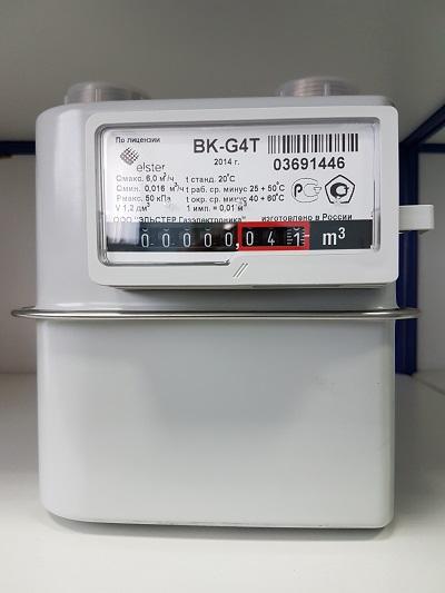 счетчик газа bk g4t и его аналоги